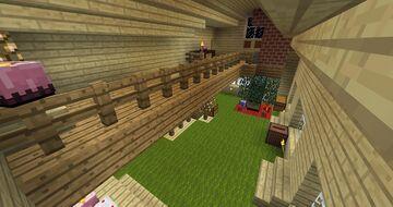 Cozy Yule Cabin Minecraft Map & Project