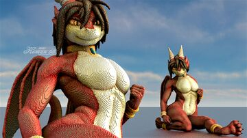Anthro Dragoness [ lV ] Minecraft Map & Project