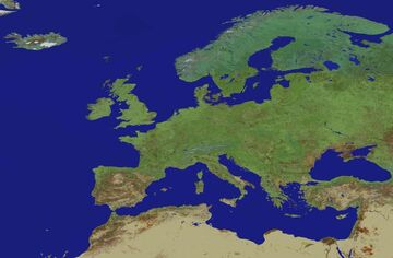 Europe Map 1:100 Scale (1.16) Minecraft Map & Project
