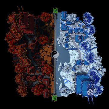 Yin Yang Hub by Lekilo_maitre Minecraft Map & Project