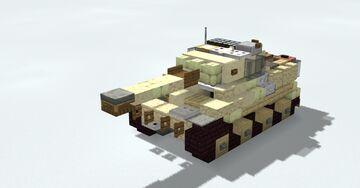 Panzerkampfwagen VI Tiger Ausf. E Minecraft Map & Project