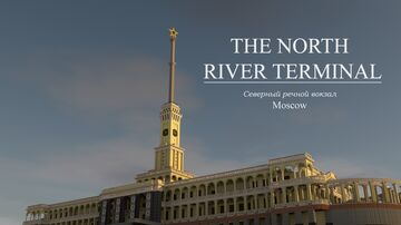 The North River Terminal | Moscow Minecraft Map & Project