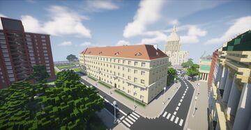 European tenement house Minecraft Map & Project
