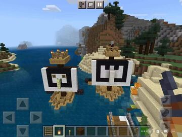 Pillager's Ship Minecraft Map & Project