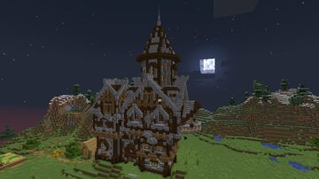 Medieval Themed Iron Farm - Build Idea - [World Download] Minecraft Map & Project