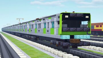 JR East Yamanote Line E235 Series Train Minecraft Map & Project