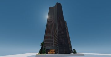 ROSEIVE TOWER Minecraft Map & Project