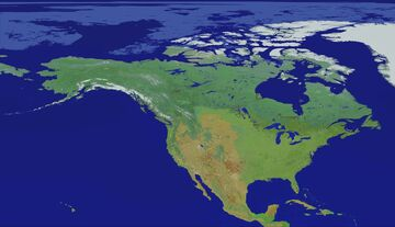 North America Map 1:200 Scale (1.16) Minecraft Map & Project