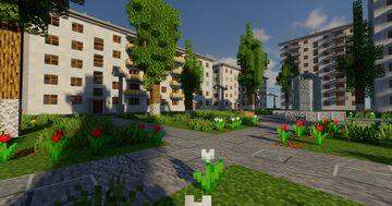 Post-Soviet City [Beta 1.0] Minecraft Map & Project