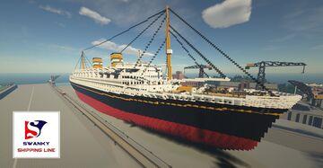 SS Nieuw Amsterdam Minecraft Map & Project