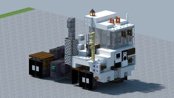 Capacity, Yard Jockey truck [With Download] Minecraft Map & Project