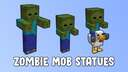 Zombie Mob Statues Minecraft Map & Project