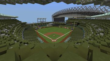 T-Mobile Park (Seattle Mariners) Seattle, Washington 1:1 Minecraft Map & Project