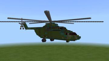 Mil Mi-26 Halo Minecraft Map & Project