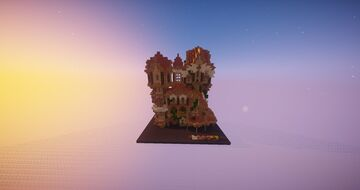 Big Fantasy House Minecraft Map & Project