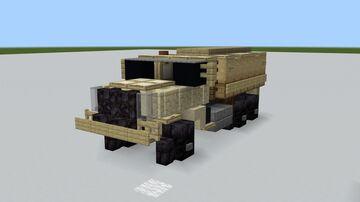 M939 5 Ton Truck Minecraft Map & Project