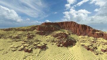 Karahara Mesa Terrain 1024x1024 3/3 | 1.15+ Minecraft Map & Project