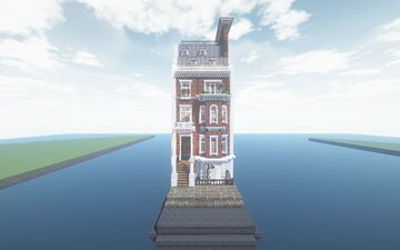 English Townhouse apartment No 2. - Used with Cocricot mod - By JustParis Minecraft Map & Project