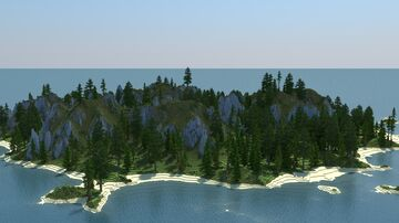 Survival island map Minecraft Map & Project