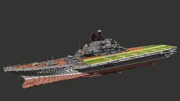 Kiev class Aviation Cruiser Minecraft Map & Project