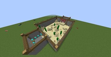 Arena PvP Minecraft Map & Project