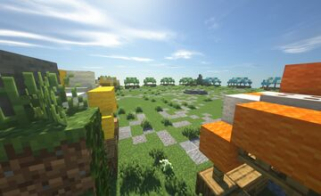 Floating Island Player Shops Minecraft Map & Project