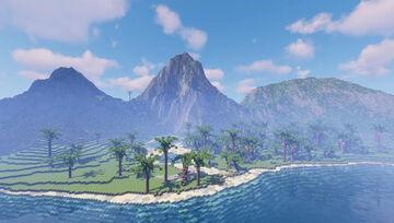 Custom Survival Terrain 30,000 x 30,000 Blocks Large, 20+ Biomes Minecraft Map & Project