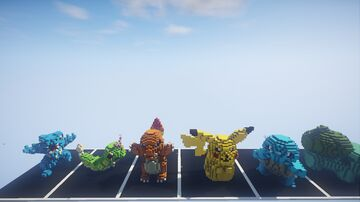 Pokemons Pack Minecraft Map & Project