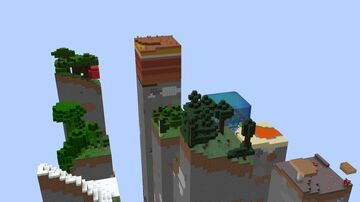 9 Chunk Skyblock Minecraft Map & Project