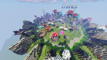 Flower Pixelmon Spawn-Hub-Lobby (magma discord for commissions) Minecraft Map & Project