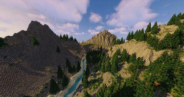 Pirate Paradise (2.5k,2.5k) Adventure Map Minecraft Map & Project