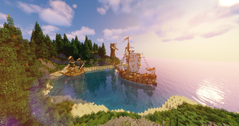 Bay  Pirate Ships