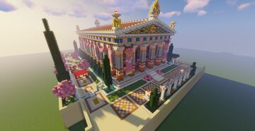 Greek Temple of Apollo / Assassin's Creed Odyssey Minecraft Map & Project