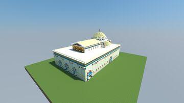 Speculative Byzantine Alexandria Large Church Minecraft Map & Project