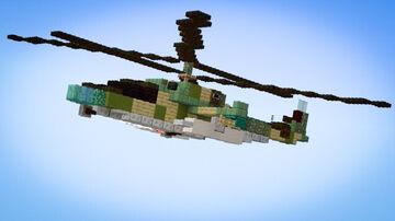 Ka-52 Alligator Minecraft Map & Project