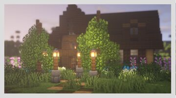 Small Forest cottage Minecraft Map & Project