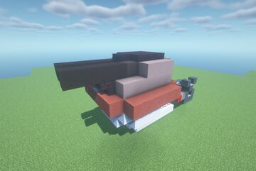 A-LST  -  Adjustable Trajectory TNT Cannon ( Twin Shot | Turret | Movecraft Compatible ) Minecraft Map & Project