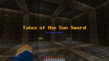 Tale of the Sun Sword DEMO Minecraft Map & Project