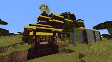 The Alchemist's Library Minecraft Map & Project