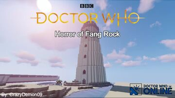 Horror of Fang Rock - Doctor Who Online Minecraft Map & Project