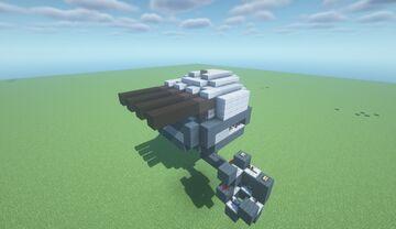 CST Mk0  -  Adjustable Arc TNT Cannon ( *Un-Scattershots your CST* | Movecraft Compatible | Adjustable | Turret ) Minecraft Map & Project