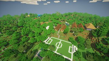 """""""The Riverside"""" - Summer Camp Minecraft Map & Project"""