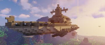 Nero's Airship Minecraft Map & Project