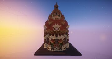 Big Fantasy Temple Minecraft Map & Project