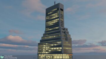 261 Richardson Avenue | New Limesville City | NL | UCS Minecraft Map & Project