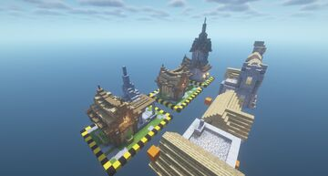 all village type transformation Minecraft Map & Project