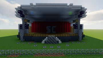 Minecraft Stage with Redstone Minecraft Map & Project