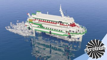 Boeing 929 Jetfoil   DOWNLOAD Minecraft Map & Project