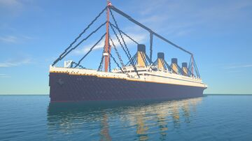 RMS Titanic 1:8 scale (Updated) Minecraft Map & Project