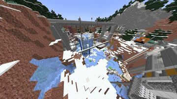 Legacy Edition Battle Map 4 Shrunk And Frontier And Dig Minecraft Map & Project